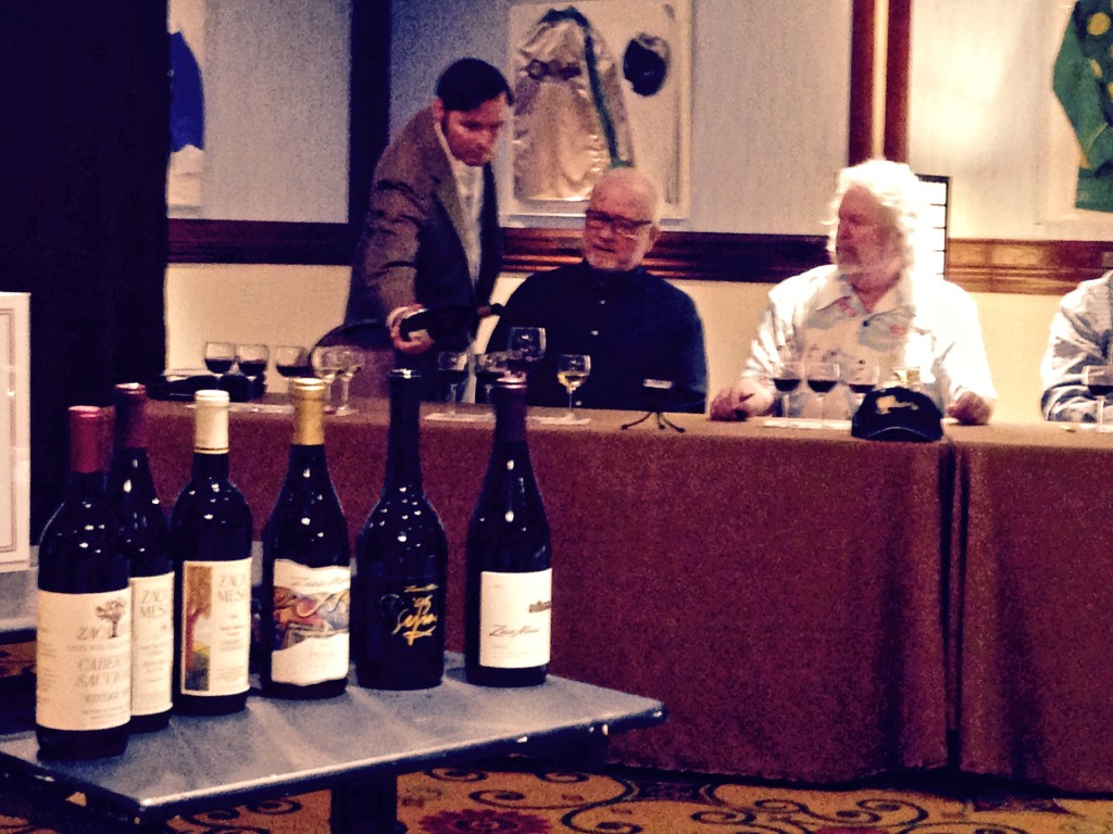 Christopher Sawyer hosted a seminar on the early days of SB wine with early pioneers Ken Brown, Jim Clendenen, and Bob Lindquist